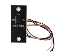 Nabco Gyro Tech On, Off, Hold Open Switch Assembly For Swing Door Applications (Except U Series Controls)
