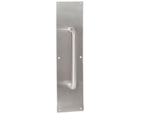 "Trimco 1017-2Ch.630 - Pul/Plt 3.5X15 Grp 6""Mt, Satin Stainless Steel"