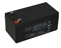 Detex 103952-1, Rechargeable Battery, 6Vdc, 3.4Ah (2 Required For Eax-3500 Built After 2016)
