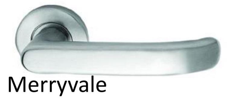 Trimco 1074-3-Rh-Sc051 630 - Brn Dr Pass W/Merryvale Rh, Satin Stainless  Steel