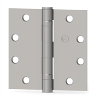 Hager 108117 - Ecbb1100 -  4-1/2 In x 4-1/2 In Full Mortise Ball Bearing Hinge, Steel Standard Weight, Us26