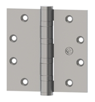 Hager 109281 - Ec1105 -  4-1/2 In x 4-1/2 In Full Mortise Spring Hinge, Steel Standard Weight, Us15