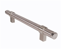 "Trimco 1185Sos-30E-1Jb.630 - Adj&Conf Pull So 30"".50""Bk, Satin Stainless Steel"