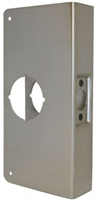 "Don Jo 12-Cw-S, For Cylindrical Door Lock W/2-1/8"", S Finish"