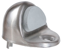 Trimco 1211.620 - Universal Dome Stop, Satin Nickel Plated, Blackened, Satin Relieved, Clear Coated