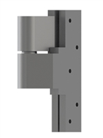 Hager 1244 - 496 - Forged Bronze Full Mortise Ball Bearing Adjustable Intermediate Pivot Hinge, Left Hand, Us10b