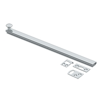 "Deltana 12Sbcs26 - 12"" Surface Bolt, Concealed Screw, Hd - Us26 Polished Chrome Finish"