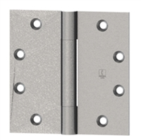 Hager 1344 - 700 - 4-1/2 In x 4 In Hinge, Steel Full Mortise Standard Weight Plain Bearing Three Knuckle, Box of 3, Us4