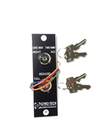 Nabco Gyro Tech Gt 1175 Whisper Slider Key Switch Dual Cylinder (Old Part Number: 219820)
