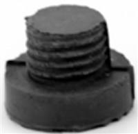 Don Jo 1468-Gray, Replacement Rubber Tip, Gray Finish