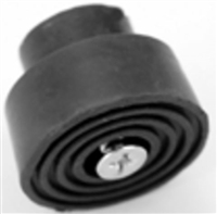 Don Jo 1469-Gray, Replacement Rubber Tip, Gray Finish
