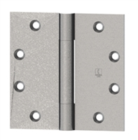 Hager 1501 - Ab700 - 4 In x 4 In Hinge, Steel Full Mortise Standard Weight Concealed Bearing Three Knuckle, Box of 3, Usp
