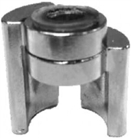 Don Jo 1513-Cp, Cast Zinc Hinge Stop, Cp Finish