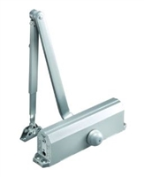 Norton 1604Bc 689: 1604Bc Series Ansi Size 4 Spring Door Closer With Backcheck, Regular Arm, Tri-Packed, 689 Aluminum Finish (25 Year Warranty)