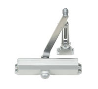 Norton 1604Bch 689: 1604Bch Series Ansi Size 4 Spring Door Closer With Backcheck, Hold Open Arm, Tri-Packed, 689 Aluminum Finish (25 Year Warranty)