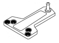 Norton 1618A: Standard Installation Soffit Plate For 1600 Series