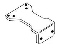 Norton 1628H: Parallel Hold Open Adapter Plate For 1600 And 7500 Series