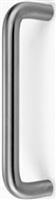 "Don Jo 17-630, 10"" CTC Solid Bar Door Pull, Stainless Steel Finish"