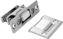 "Don Jo 1700-605, 3-3/8"" X 1"" Latch, 605 Finish"