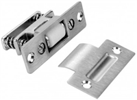 "Don Jo 1702-605, 3-3/8"" X 1"" Latch, 605 Finish"