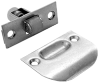 "Don Jo 1710-605, 2-1/4"" Roller Latch, 605 Finish"