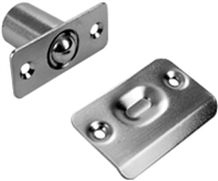 "Don Jo 1714-605, 2-1/8"" Ball Latch, 605 Finish"