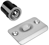 "Don Jo 1716-605, 2-1/8"" Ball Latch, 605 Finish"