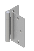 Hager 1866 - Ab703 - 4-1/2 In Half Surface Hinge, Steel Standard Weight Concealed Bearing Three Knuckle, Box of 3, Us26d