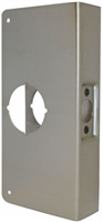 "Don Jo 2-Cw-Us10B, For Cylindrical Door Lock W/2 1/8"" Hole, Us10B Finish"