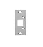 "Don Jo 2-SDS-SL, 4-7/8"" x 1-1/4"" Security Strike For Deadbolt, Silver Coated"