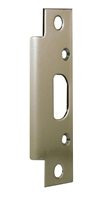 "Don Jo 2-SS-BP, 4-7/8"" x 1-1/4"" Security Strike For Deadbolt, Brass Plated"