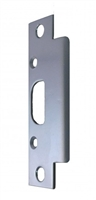 "Don Jo 2-SS-BP, 4-7/8"" x 1-1/4"" Security Strike For Deadbolt, Silver Coated"
