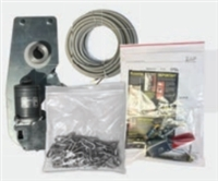 "Zap 200.1326.00, 825-B Replacement Motor Head With 4"" Pulley And Belt Configuration, And Accessories."