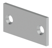 "Hager 23352, 336A Door Edge Filler Plate 1-1/8"" X 2-1/4"", Usp Primed Coat"