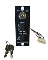 Nabco Gyro Tech Combination Key And Rocker Switch Assembly For Sliding Doors (U04 To U30 Series Controls)