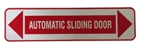 """Automatic Sliding Door"" Double Sided Decal"