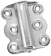S. Parker Hardware 24320, Screen Door Hinge For Indoor And Outdoor Use, Zinc Plated Carded