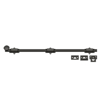 "Deltana 24Sb10B - 24"" Surface Bolt, Hd - Oil-Rubbed Bronze Finish"