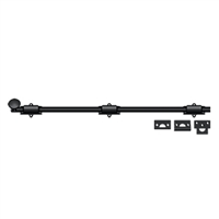 "Deltana 24Sb19 - 24"" Surface Bolt, Hd - Paint Black Finish"