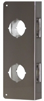 "Don Jo 258-Cw-Ab, For Combination Lockset With 2 1/8"" Hide, Ab Finish"
