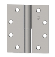 Hager 2936 - Ab920 -  4-1/2 In x 4-1/2 In Full Mortise Hinge, Left Hand, Steel Standard Weight Concealed Bearing Two Knuckle, Box of 3, Us26d