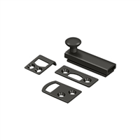 "Deltana 2Sbcs10B - 2"" Surface Bolt, Concealed Screw, Hd - Oil-Rubbed Bronze Finish"