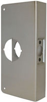 "Don Jo 3-Cw-Us10B, For Cylindrical Door Lock W/2 1/8"" Hole, Us10B Finish"