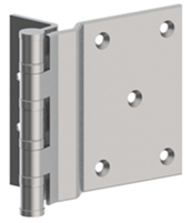 Hager 34690 - Bb1270 -  5 In Swing Clear Ball Bearing Hinge, Steel Half Surface, Heavy Weight, Box of 3, Us10b