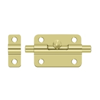 "Deltana 3Bbu3 - 3"" Barrel Bolt - Polished Brass Finish"