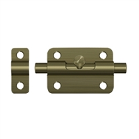 "Deltana 3Bbu5 - 3"" Barrel Bolt - Antique Brass Finish"