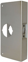 "Don Jo 4-Cw-S, For Cylindrical Door Lock W/2 1/8"" Hole, S Finish"