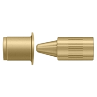 Deltana 44368Us4 - Hinge Pin Stop, Door Mounted -  Brushed Brass Finish