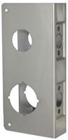 "Don Jo 484-Cw-S, For Combination Lockset With 1 1/2"" Hide, S Finish"