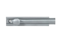 "Trimco 4874.620 - Surface Bolt 4"", Satin Nickel Plated, Blackened, Satin Relieved, Clear Coated"